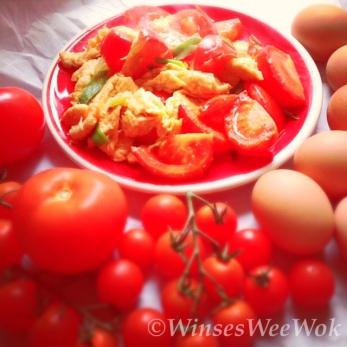 egg and tomatos
