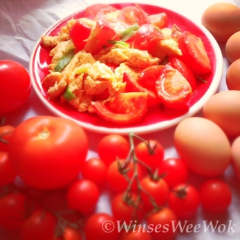 egg and tomatos