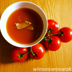 beef and tomato soup