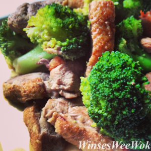duck stir fry with broccoli