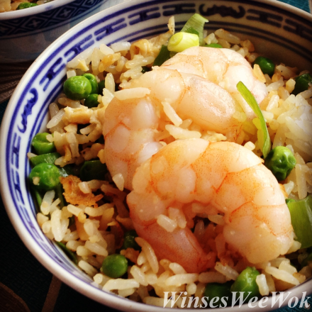 King Prawn fried rice ....