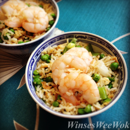 King Prawn fried rice ..