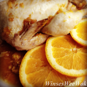 Quails in Orange glazed sauce