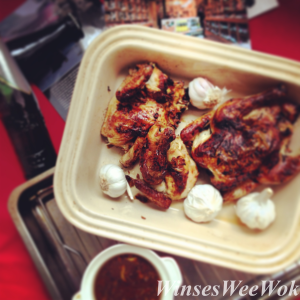 Roasted quails with Garlic and Honey Sauce 2