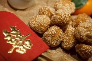 CNY sesame balls