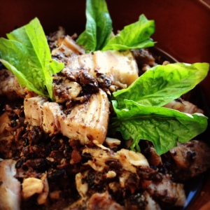 Steamed Pork Belly in Preserved Black Beans.2