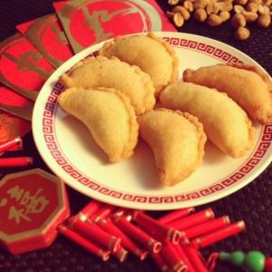 Peanut dumplings