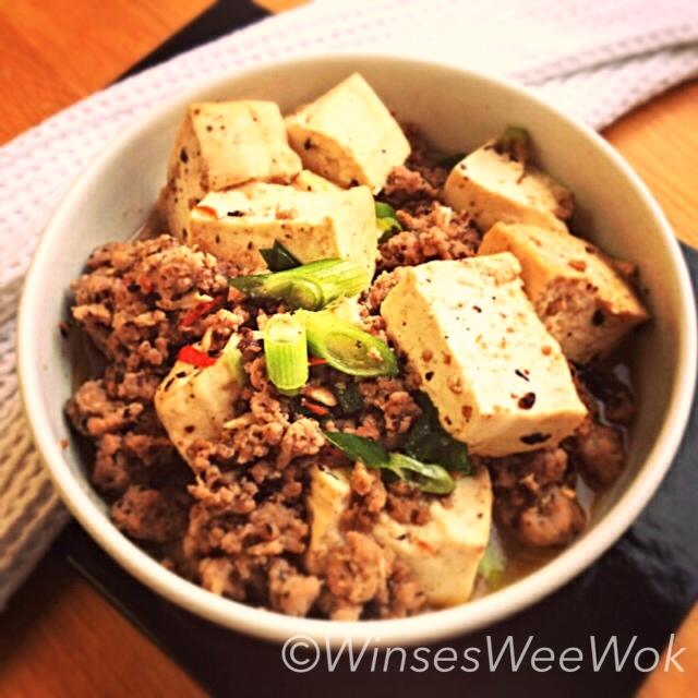 Spicy MA POR tofu | WinsesWeeWok