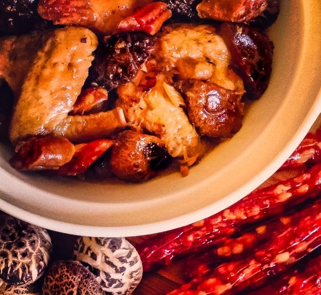 chicken claypot 1